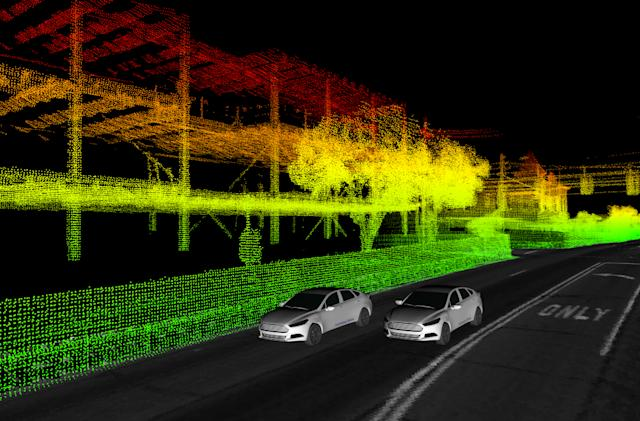 Ford shares a year's worth of self-driving car data