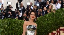 Amal Clooney wears pants on the fanciest red carpet of the year