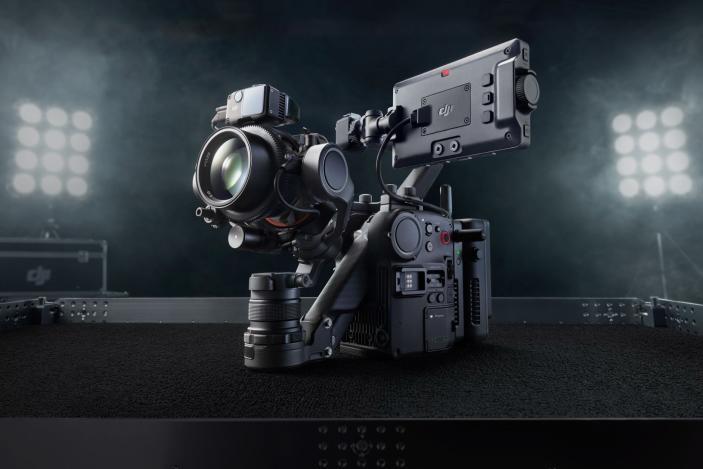 DJI's Ronin 4D cinema camera has a built-in gimbal and LiDAR focus system