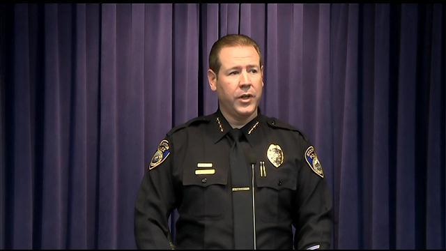 Raw Video: Stockton Police Chief Updates Fatal Bank Robbery, Shootout