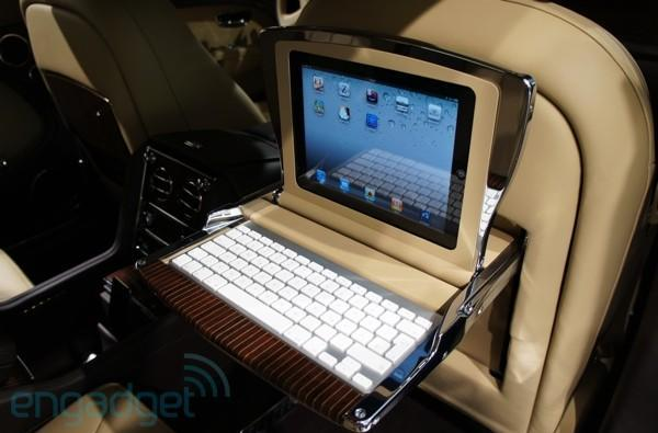 Bentley demos 100,000 euro Executive dual-iPad interior for Mulsanne, we take a seat (video)