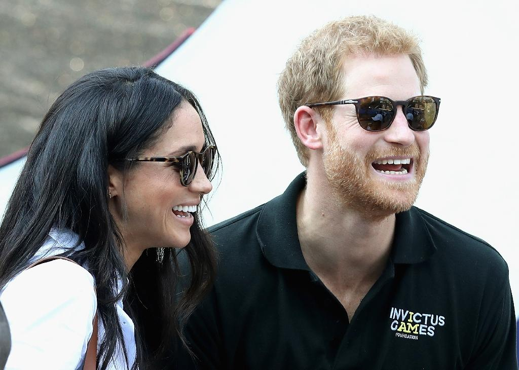 The couple made their first official public appearance together in September, attending the opening ceremony of the third Invictus Games (AFP Photo/Chris Jackson)