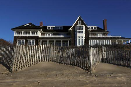 A beachfront residence is seen in East Hampton, New York, March 16, 2016. REUTERS/Jeffrey Basinger