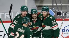 Wild 5, Sharks 2: Wild spoil Sharks' party with big win