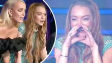 'Who the f*** is that?': Lindsay Lohan's awkward reaction to Masked Singer reveal