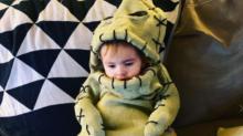 Mom Transforms Son Into Tim Burton's Oogie Boogie Ahead of Halloween