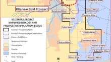 Japan Gold Announces Combined Results of  Phase 1 Drilling, Surface Sampling and Geophysical Programs at the Kitano-o Gold Prospect