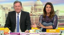 Susanna Reid clashes with Piers Morgan over his criticism of 'pathetic' Prince Harry and Meghan Markle