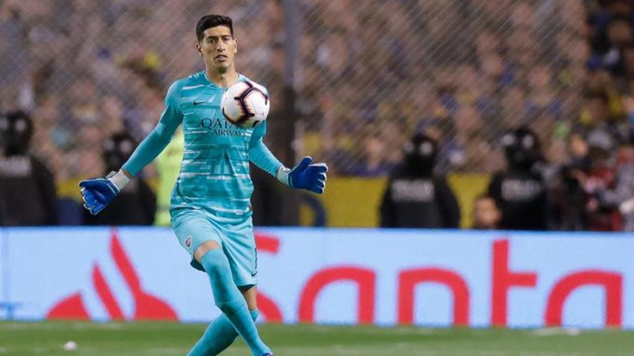 Boca Juniors pierde por lesión al portero Esteban Andrada