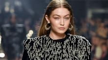 "Gigi Hadid tells fan that modeling while pregnant is much ""more tiring"""