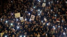 Manifestantes de Hong Kong vão continuar a lutar