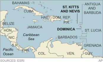 Struggling Caribbean islands selling citizenship