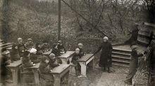 Cuando hace un siglo las escuelas trasladaron sus aulas al aire libre para prevenir la tuberculosis