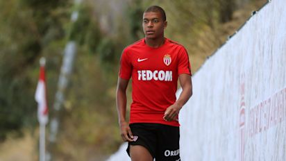 Mbappe 'banished' from Monaco training