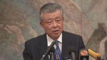 China tells 'colonial' Britain: hands off Hong Kong