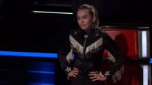 Miley Cyrus struggles with final cuts on 'The Voice,' makes a surprising choice