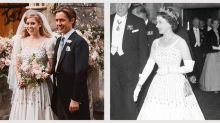How Princess Beatrice Altered the Queen's Dress for Her Wedding