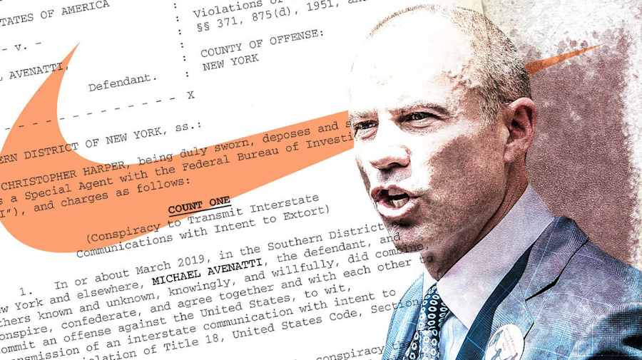 Avenatti charged with extortion, bank and tax fraud