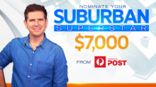 Nominate a suburban superstar to win $7,000