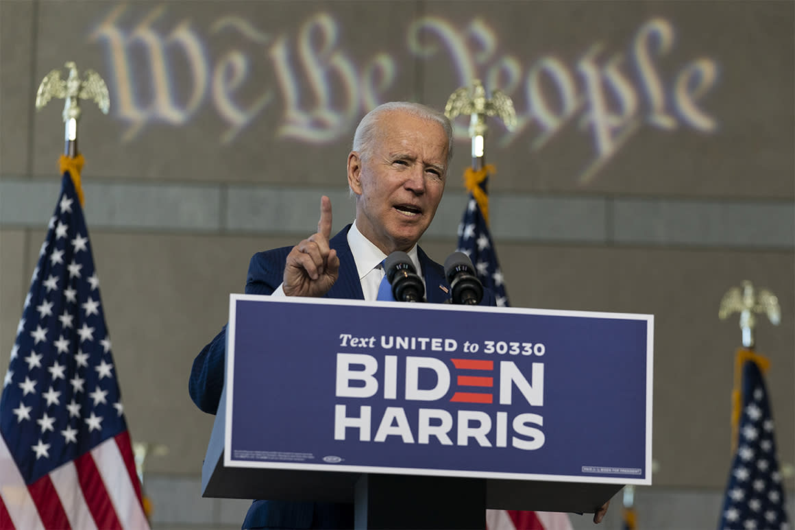 Liberals want blood. Joe Biden is sticking with bipartisanship.