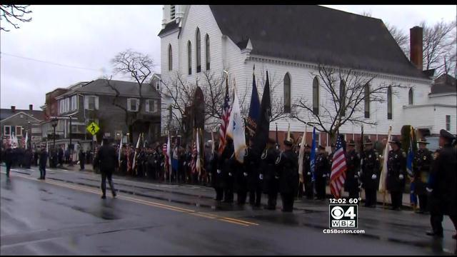 Plymouth Police Officer Laid To Rest