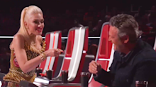 'You're a liar and a cheater!' Gwen/Blake rivalry heats up on 'The Voice' — with hilarious results