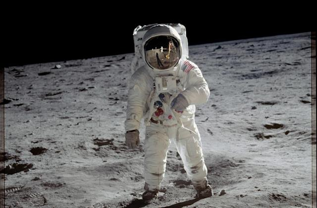 Neil Armstrong's Buzz Aldrin photo is unparalleled in art