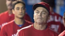 John Gibbons catches reporters off guard with Donald Trump reference