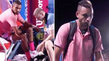 Nick Kyrgios booed off court in 'shameful' retirement controversy