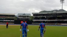 India vs West Indies first ODI abandoned due to rain