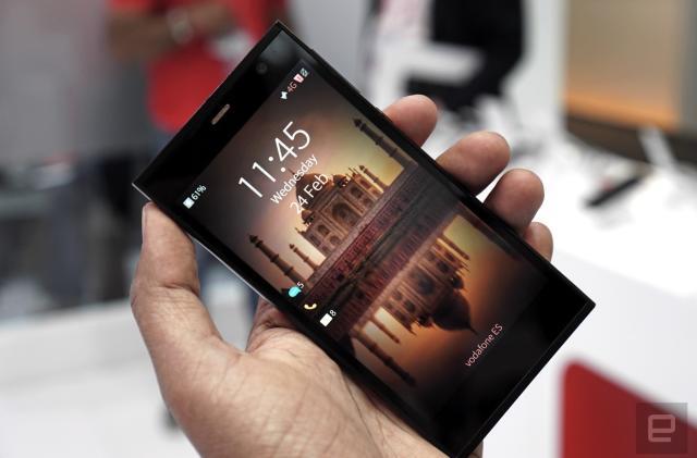 Jolla's 'Aqua Fish' phone quietly surfaces at MWC