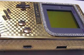 Bling-tastic Game Boy makes us weak in the knees (and wrists)