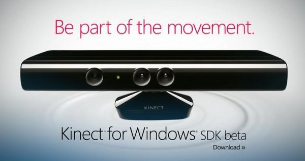 Kinect for Windows SDK beta launches, wants PC users to get a move on