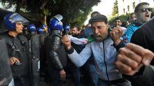 Protests, unrest mar Algeria's disputed presidential vote