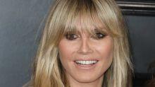Auch Topmodel Heidi Klum passt nicht in jede Hose