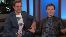 Robert Downey Jr's happy birthday message to Tom Holland is just beautiful
