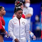 DistraughtSimone Biles pulls out of Olympics team final: 'I was still struggling with some things'