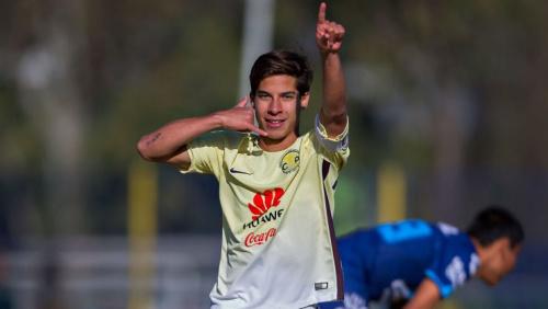 Lainez, 'El Diego' del América. Foto: Goal