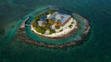 Tiny Private Paradise of an Island Eases You Into Off-Grid Living