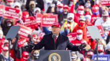 Trump se lanza a frenético final de campaña para intentar revertir encuestas