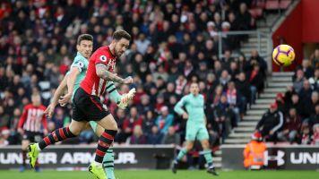 Austin sinks Arsenal as Saints win five-goal thriller