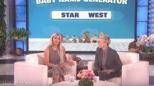 Kim Kardashian Accidentally Blurts Out Sex Of Her Baby On 'Ellen'