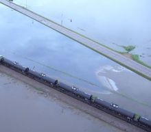 Nearly half of Iowa crude oil spill contained, BNSF says