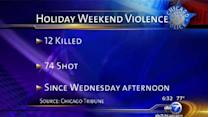 More than 70 shot, at least 12 killed in Fourth of July weekend Chicago shootings; WVON radio calls for peace