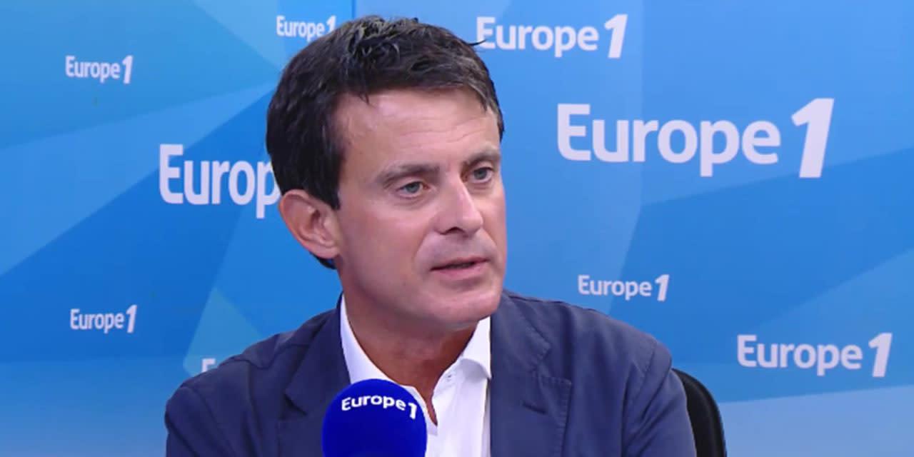 """""""Marche des libertés"""" : Manuel Valls évoque une gauche """"ambiguë"""" et une """"union de façade"""""""