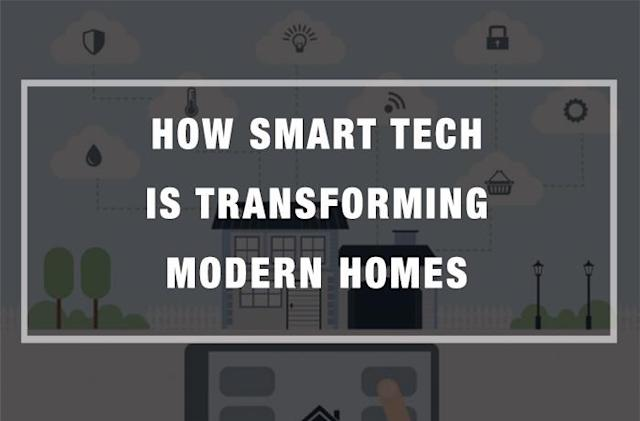 How Smart Tech is Transforming Modern Homes