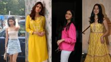 What Casual Outfits Did Khushi, Sharmin, Ananya, And Janhvi Wear Recently?