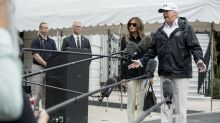 Melania Trump wore flats instead of 'storm stilletos' while heading to Florida for Hurricane Irma relief