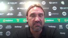Daniel Farke reacts to Norwich relegation