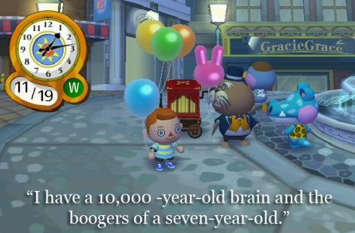 'Charlie Sheen Crossing' crosses Charlie Sheen with Animal Crossing